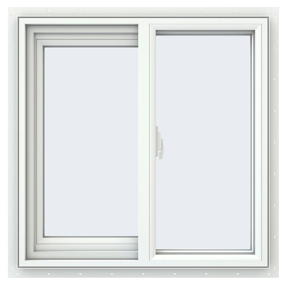 Jeld Wen 23 5 In X 35 5 In V 2500 Series Single Hung