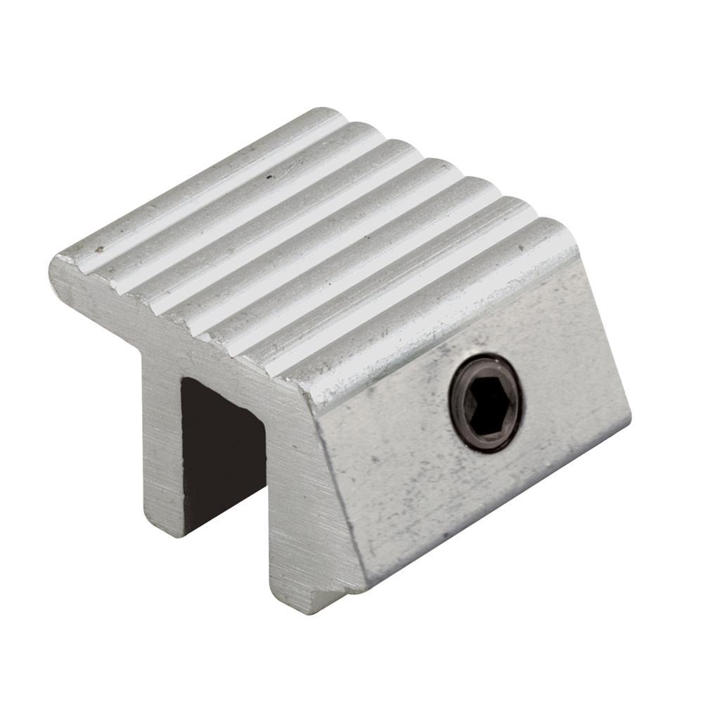 Aluminum Sliding Window Lock with Single Hex Screw (2-Pack)
