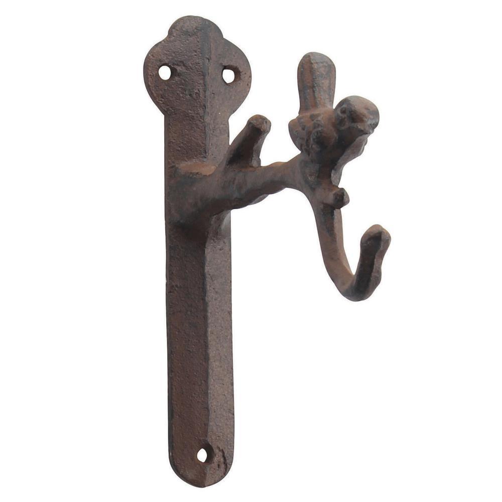 Weathered Rust Iron Decorative Wall Hook