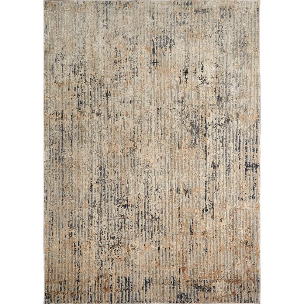 Kenmare Elson Gray/Beige 7 ft. 9 in. x 10 ft. 2 in. Indoor Area Rug