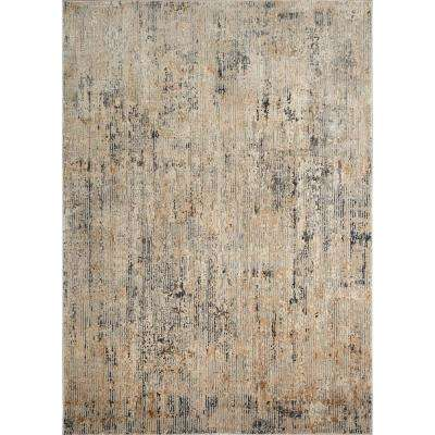 Kenmare Elson Gray/Beige 7 ft. 9 in. x 10 ft. 2 in. Indoor Area Rug