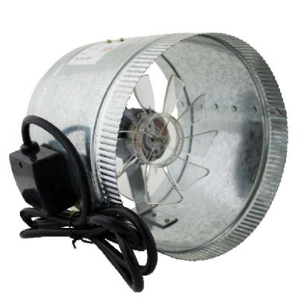 HomeAire 8 in. Inline Duct Boost Fan