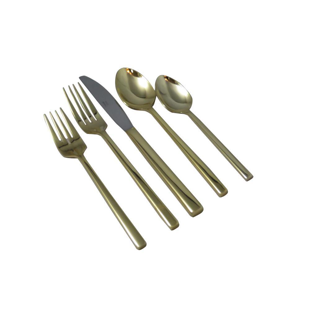 Kyoto 20-Piece Stainless Steel Flatware Set