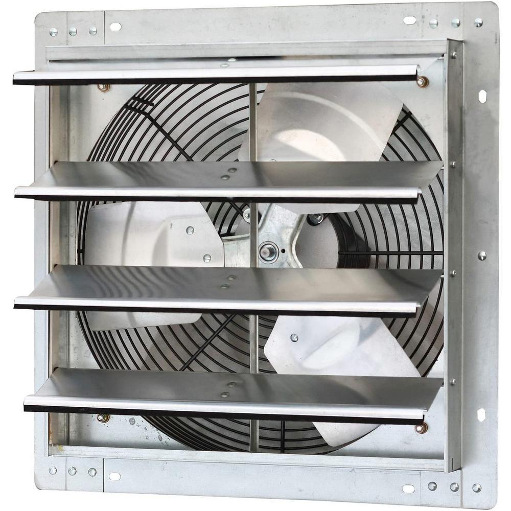 1280 CFM Power 16 in. Variable Speed Shutter Exhaust Fan