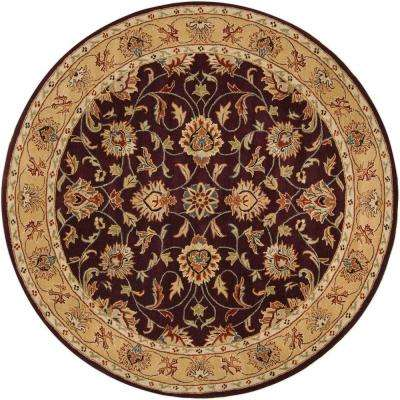 John Plum 6 Ft. X 6 Ft. Round Area Rug