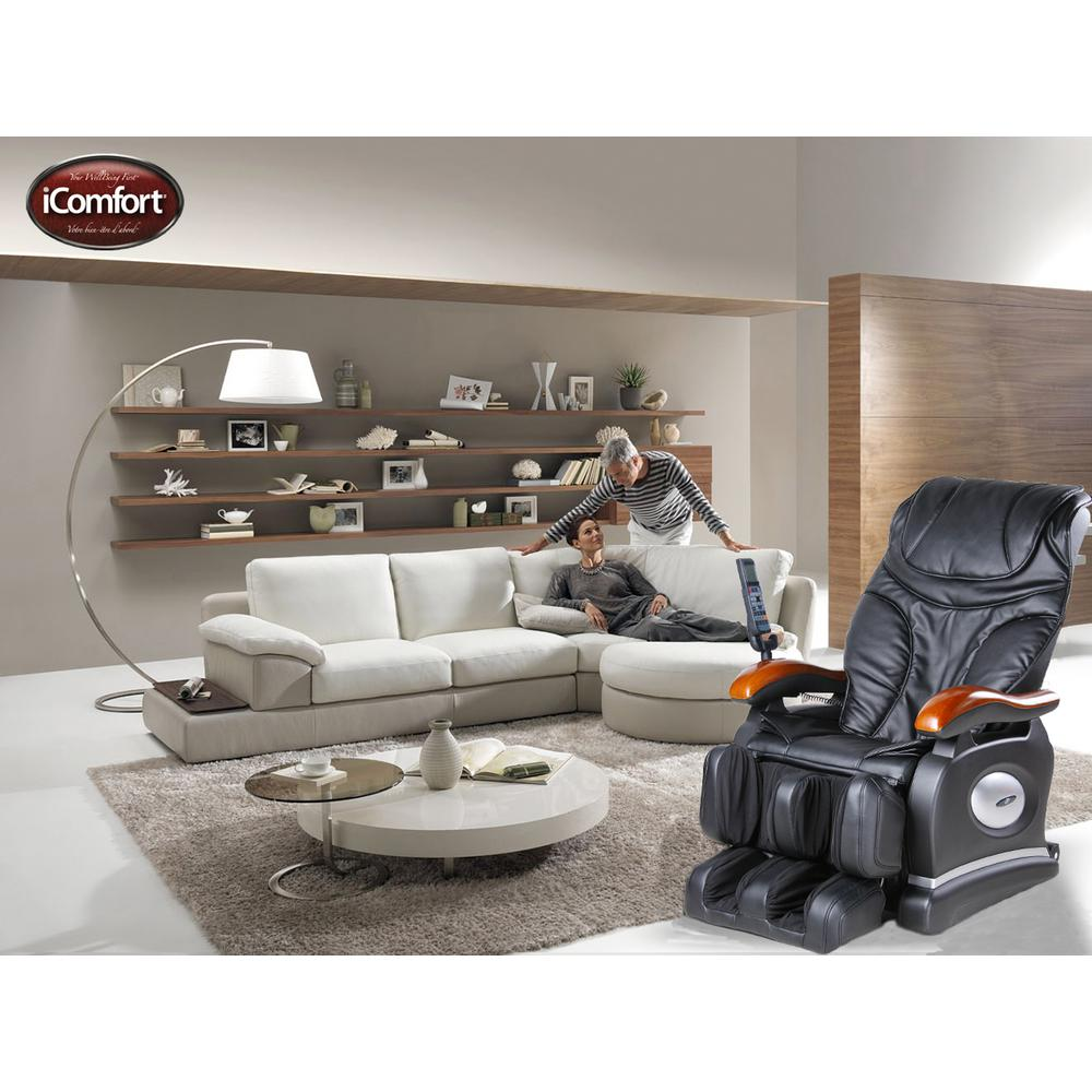 Icomfort Faux Leather Reclining Massage Chair