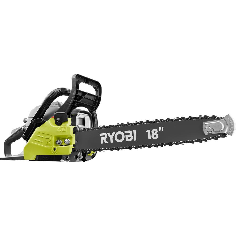 Ryobi 18 in 38cc 2 cycle gas chainsaw with heavy duty case ry3818 ryobi 18 in 38cc 2 cycle gas chainsaw with heavy duty case keyboard keysfo Images