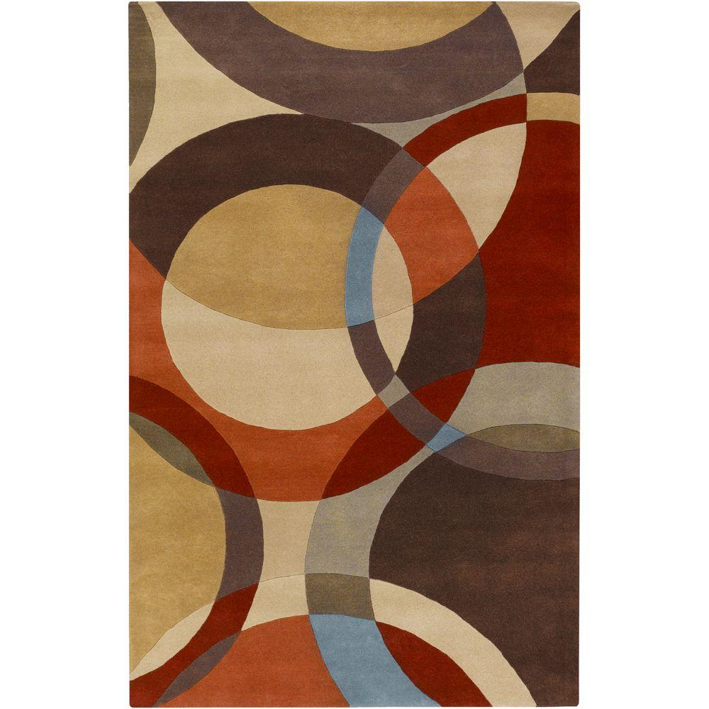 Seletar Brown 9 ft. x 12 ft. Area Rug