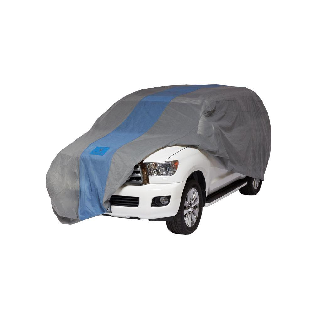 Defender SUV or Pickup with Shell/Bed Cap Semi-Custom Cover Fits up