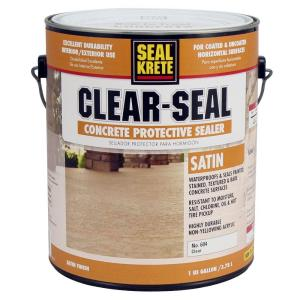 Seal Krete 1 Gal Satin Clear Seal Concrete Protective