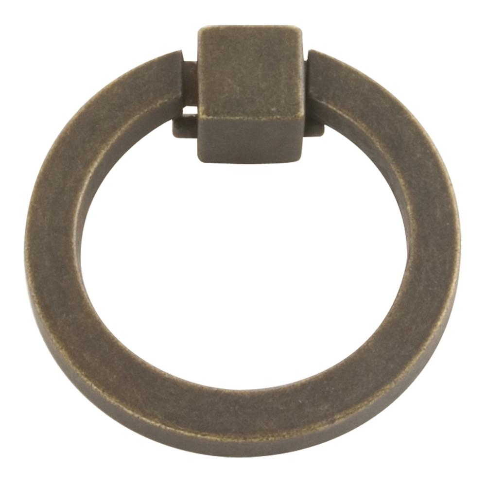Hickory Hardware Camarilla 2-1/16 in. Windover Antique Ring Pull