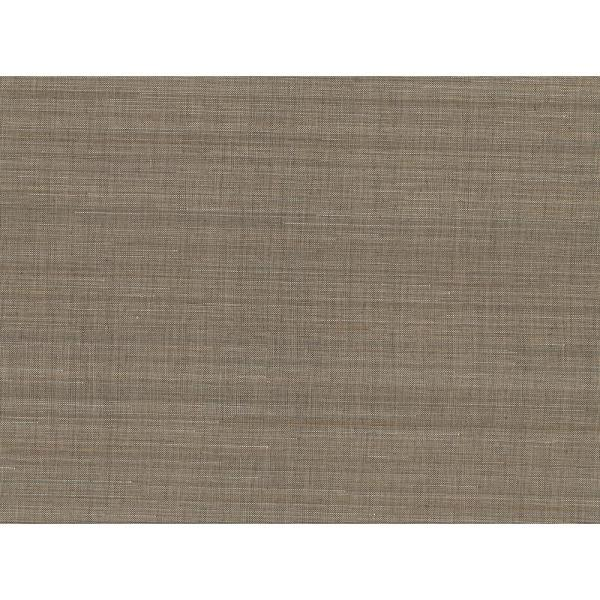 Kenneth James 72 sq. ft. Nanking Brown Abaca Grass Cloth Wallpaper