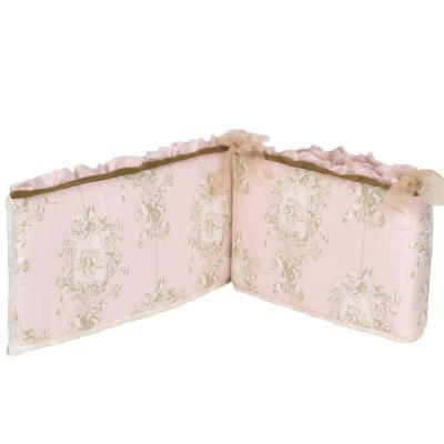 Lollipops and Roses Cotton 4-Sectional Crib Bumper Pads