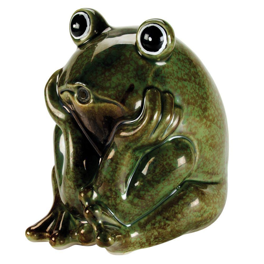 Total Pond Ceramic Frog Spitter