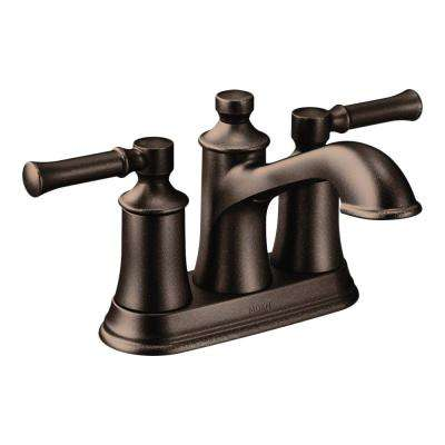 Dartmoor 4 in. Centerset 2-Handle Bathroom Faucet in Oil Rubbed Bronze