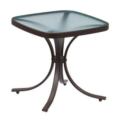 Mix and Match Square Metal Outdoor Side Table