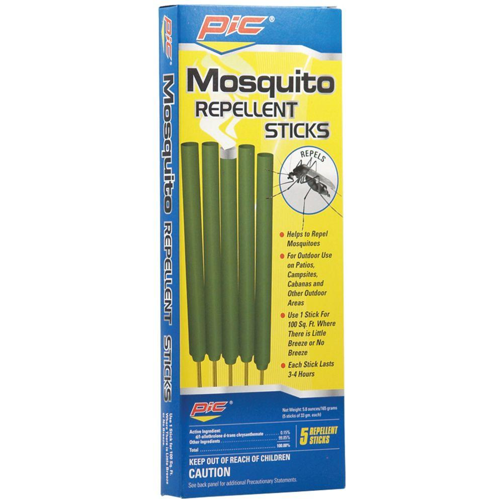 PIC Area Mosquito Repellent Sticks (5 Count, 3 Pack)