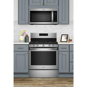 Whirlpool 5 0 cu  ft  Gas Range with Self-Cleaning Oven in