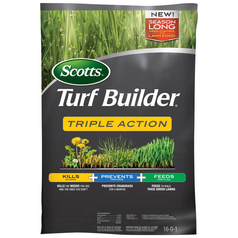 scotts turfbuilder 10m 50.2 lbs. triple action fertilizer-26002-1