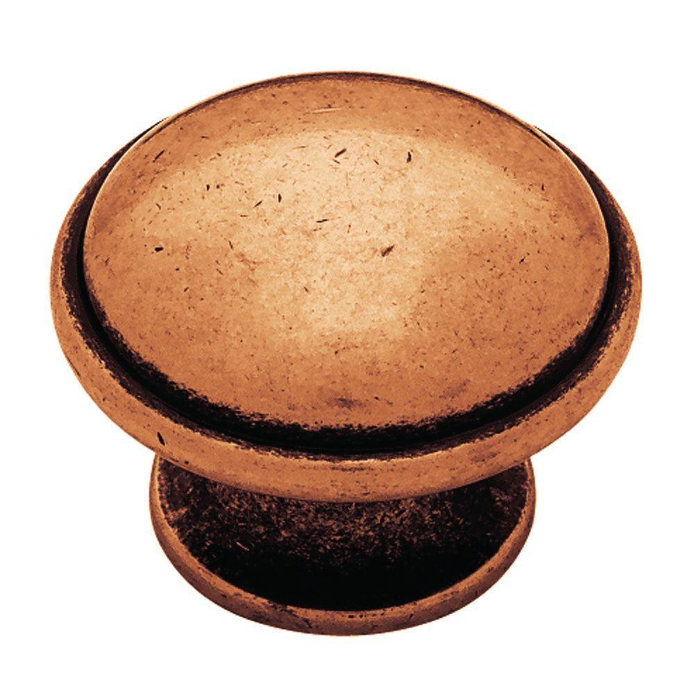 1-1/2 in. Copper Kettle Round Cabinet Knob