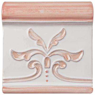 Novecento Friso Evoli Canela 5-1/4 in. x 5-1/4 in. Ceramic Wall Trim Tile