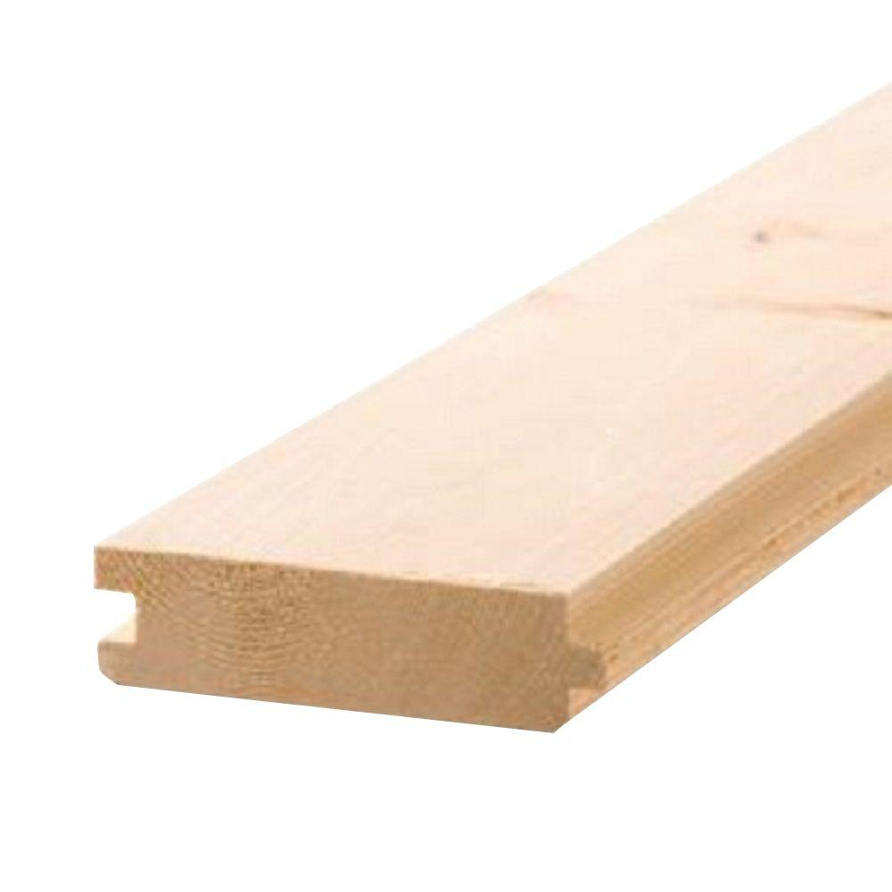 Pattern Stock Tongue And Groove Board Common 2 In X 6 In X 12 Ft Actual In X