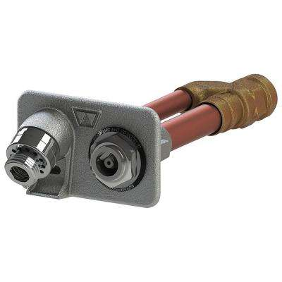3/4 in. Female SWT x 6 in. Freezeless Brass Anti-Siphon Wall Hydrant