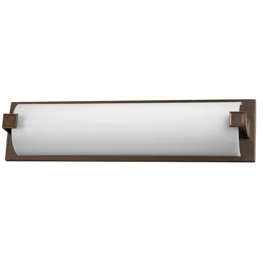 Nolan 49.75 in. 4-Light Oakley Rubbed Bronze Vanity Light