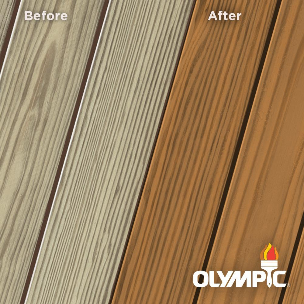 Olympic Elite 1 Gal. Timberline Semi-Solid Exterior Wood Stain and Sealant in One