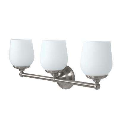 Oldenburg 3-Light Satin Nickel Sconce
