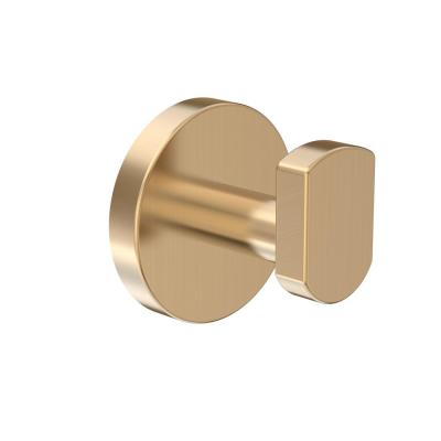 Dia Wall-Mounted Robe Hook in Brushed Bronze