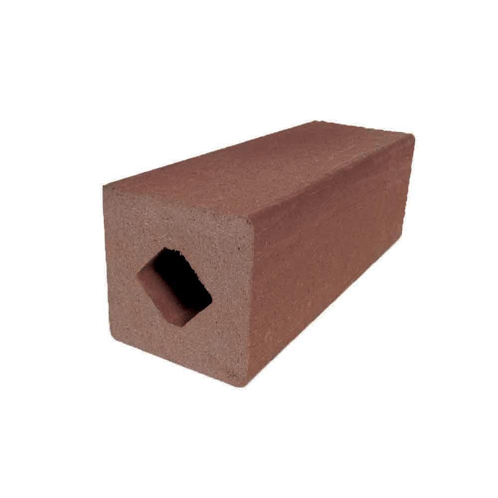 Vantage 4-1/4 in. x 4-1/4 in. x 51 in. Mahogany Solid