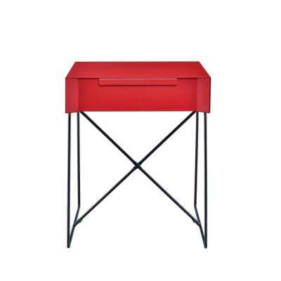 Gualacao Red End Table