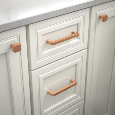 Copper Drawer Pulls Cabinet Hardware The Home Depot