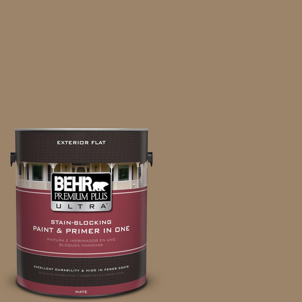 BEHR Premium Plus Ultra 1-Gal. #PPU7-4 Collectible Flat Exterior Paint
