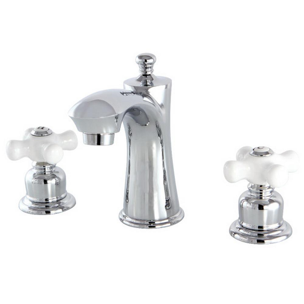 Pfister Venturi 8 In Widespread 2 Handle Bathroom Faucet