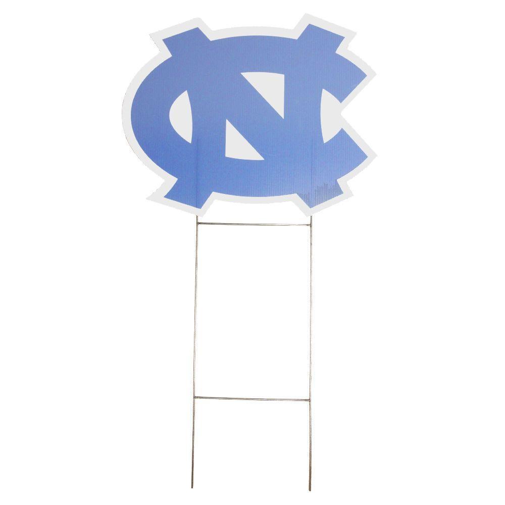 null University of North Carolina Decorative Yard Sign with Stake