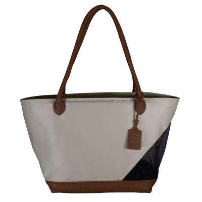 11.25 in. x 8.5 in. x 10 in. Sand Tote Bag