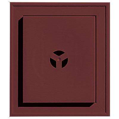 7 in. x 8 in. #078 Wineberry Square Universal Mounting Block