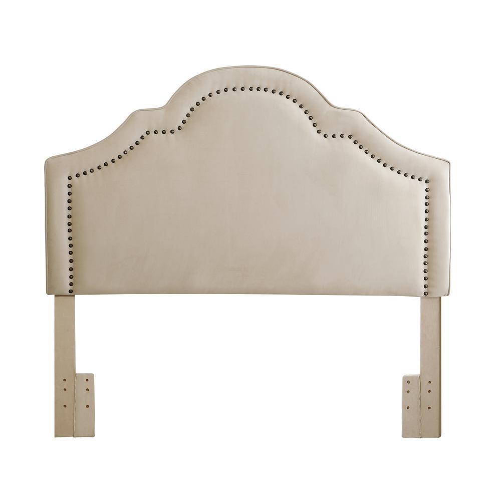 Verona Ivory Velvet Full/Queen Headboard