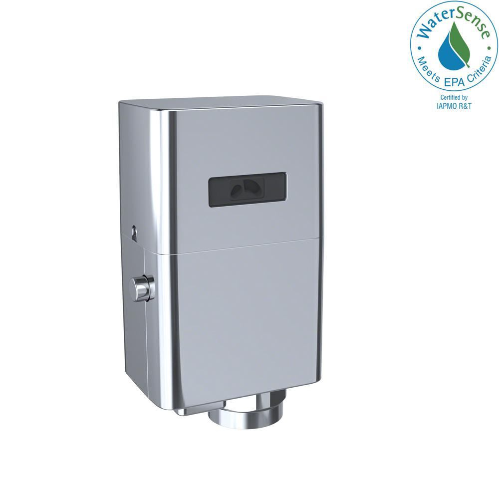 EcoPower Touchless Urinal 1.0 GPF Toilet Flushometer Valve Only in Polished