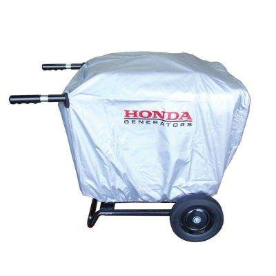 EU3000is Generator cover with Installed 2 Wheel Kit with Handles (Only)