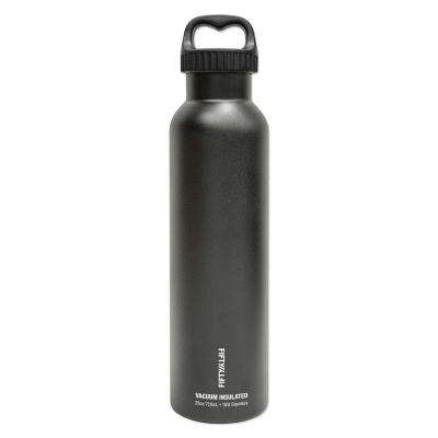 25 oz./750ml Vacuum-Insulated Bottle- Matte Black