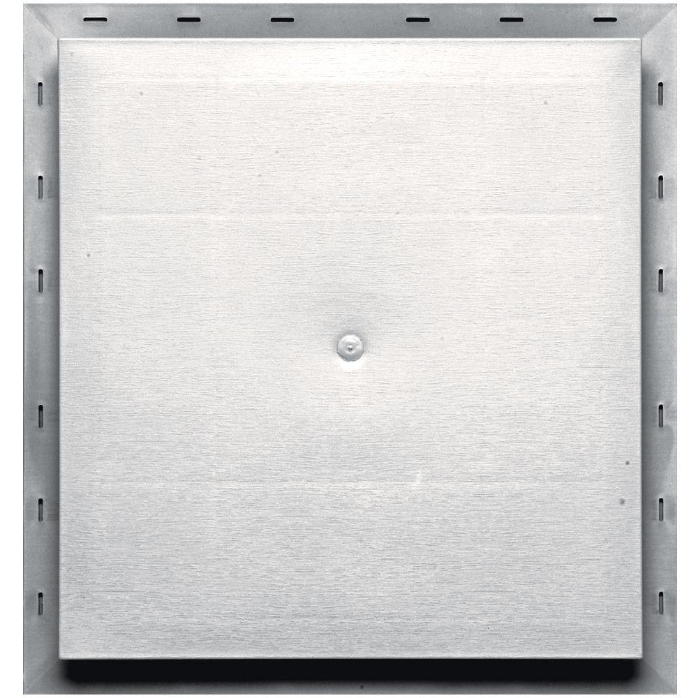 15.5 in. x 16.5 in. #117 Bright White Meter Mounting Block