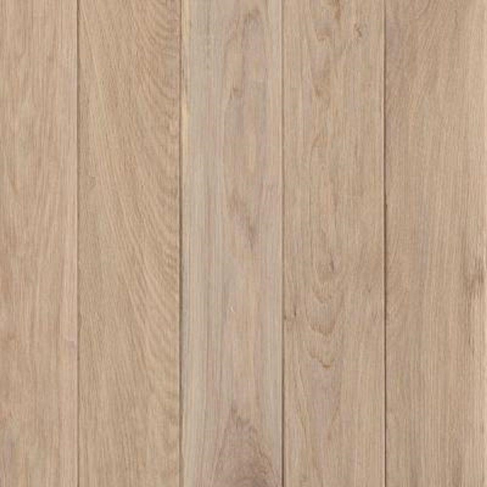 Take Home Sample - American Vintage by the Sea Oak Solid Scraped Hardwood Flooring - 5 in. x 7 in.