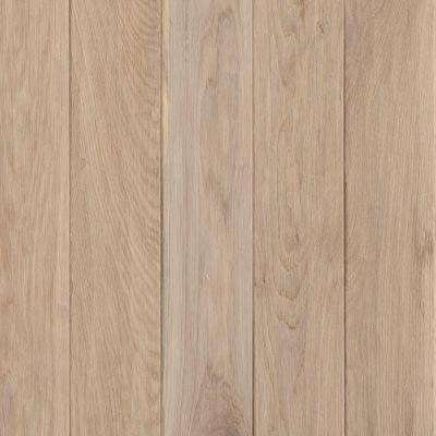 Take Home Sample - American Vintage by the Sea Oak Solid Scraped Hardwood Flooring - 5 in. x 7 in.