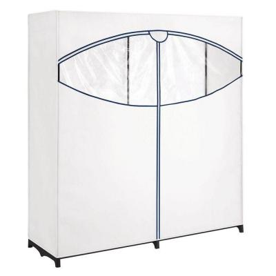 White Extra-Wide Portable Closet (60 in. W x 64 in. H)