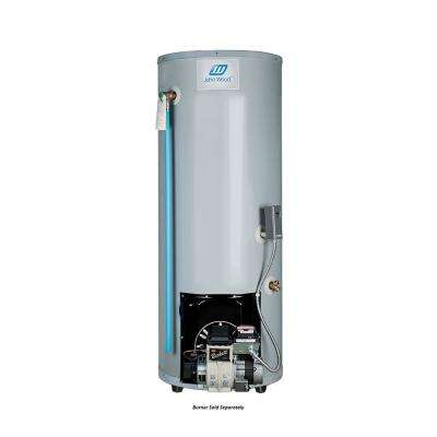 50 Gal. Tall Residential Oil-Fired Rear Flue Tank Water Heater Only (Burner Sold Separately)