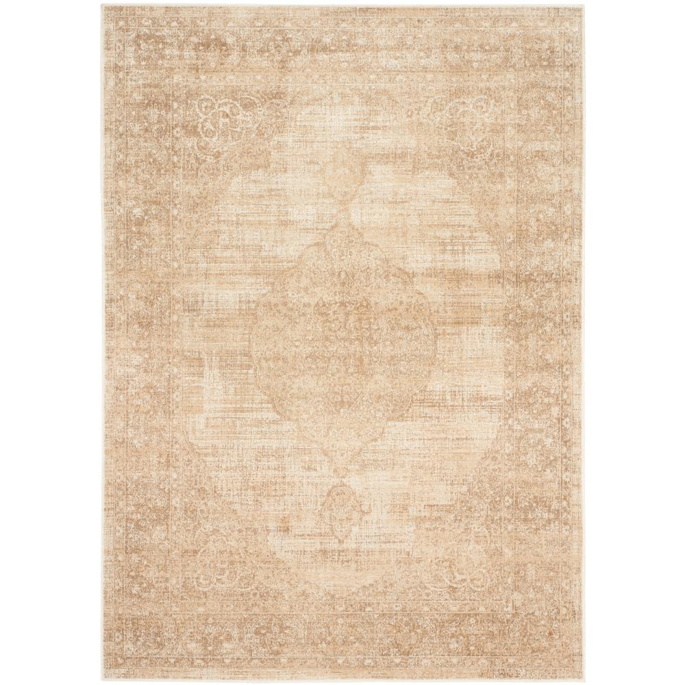 Vintage Cream (Ivory) 4 ft. x 5 ft. 7 in. Area Rug