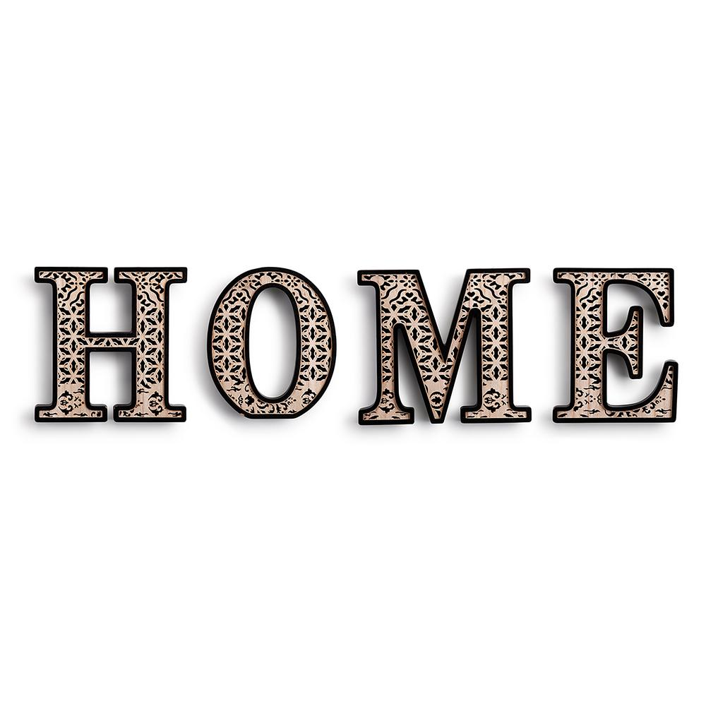 DEMDACO Laser Cut Home Letters-2020170245 - The Home Depot